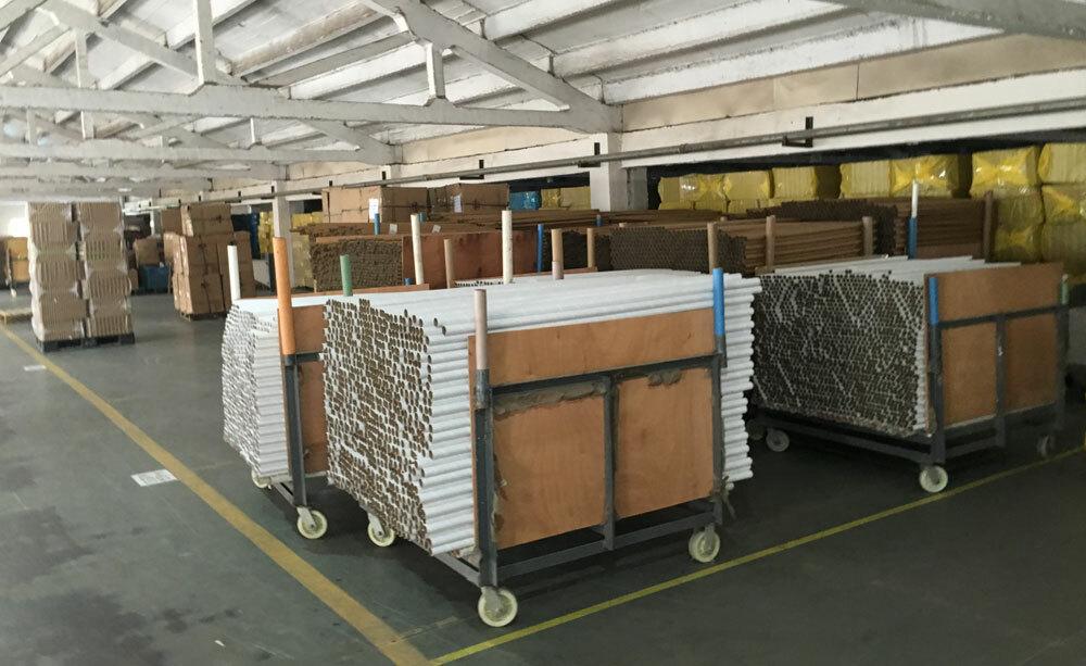 圆通纸管生产仓库